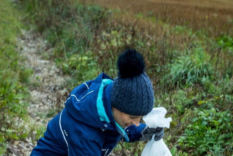FOTOD | President Kaljulaid koristas pärast Tartu Rattamaratoni rajapervi