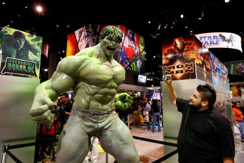 Boris Johnson võrdles end superkangelase Hulkiga