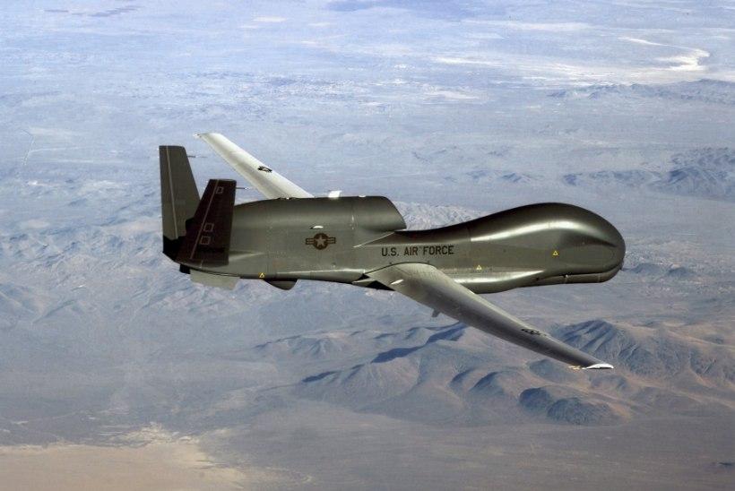 12TONNINE LUURAJA: Eesti kohal lendas kurikuulus USA sõjaväedroon