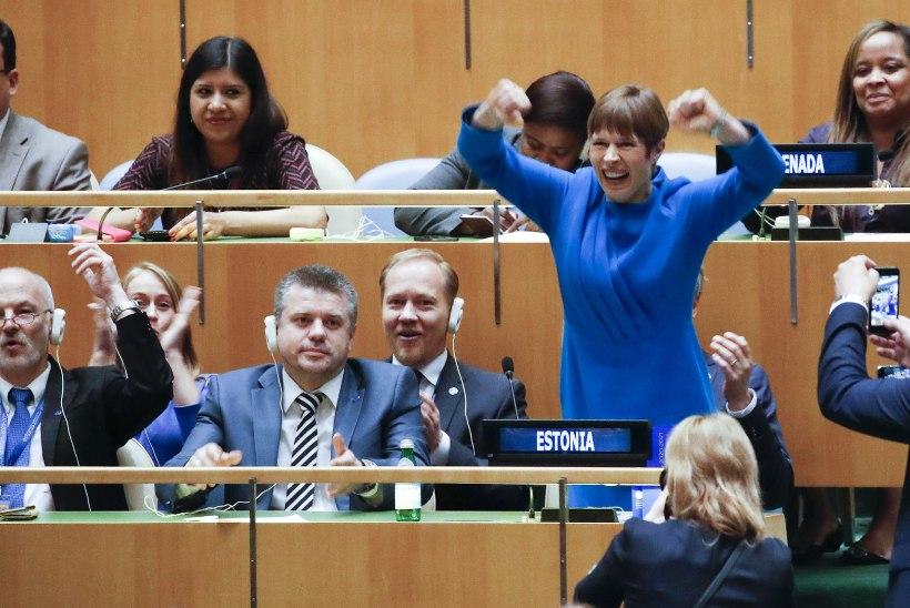 Eesti pääseb ÜRO julgeolekunõukogule ligi juba oktoobrist