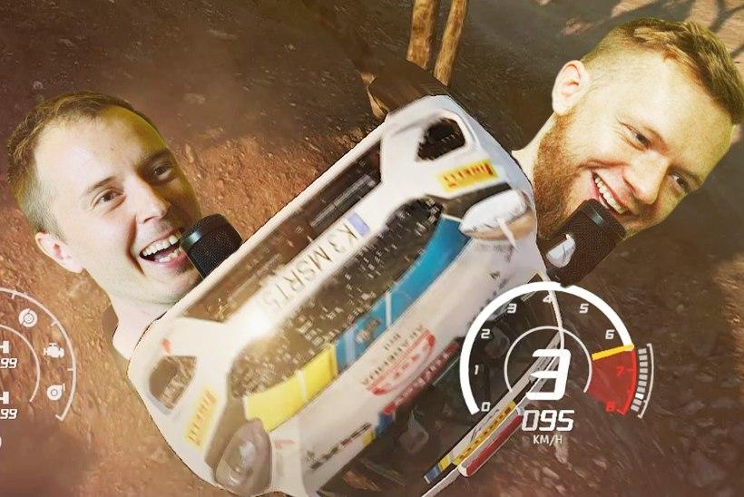 """VIDEO   """"WRC 8"""" lubab kehastuda lausa kolmeks Eesti ralliässaks. Kes need on?"""