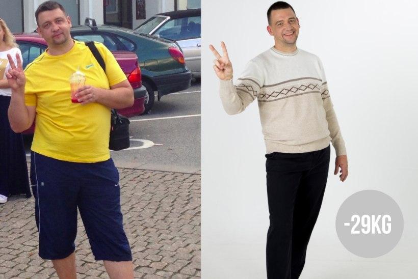 XXL-suuruse asemel L: seda kummalist nõuannet järgides vabanes mees 29 liigsest kilost