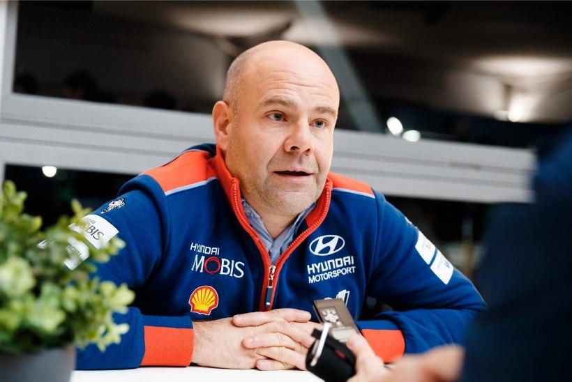Hyundai rallitiimi pealik on enesekindel, et Mäkineni suur sihtmärk ei lähe Toyotasse