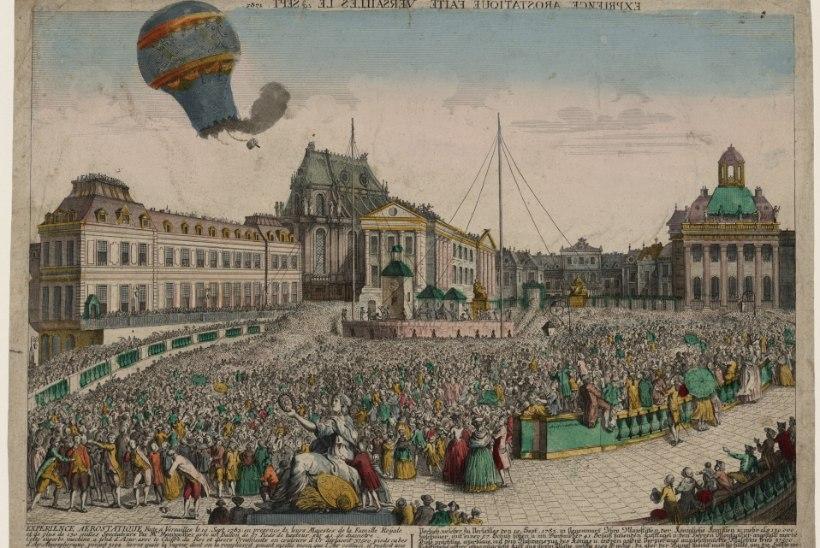 MINEVIKUHETK | 19. september: esimese mehitatud kuumaõhupalli pardal olid lammas, part ja kukk