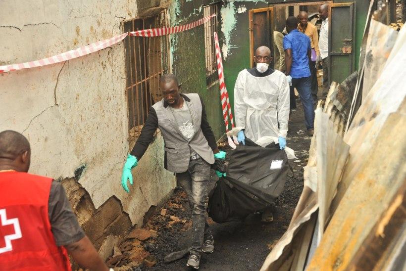 Libeeria koolitulekahjus hukkus üle kahekümne lapse