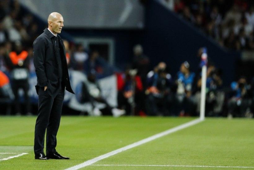 Real sai PSG-lt sugeda, meeskonna esitus ärritas Zidane'i