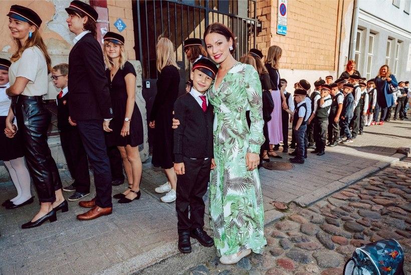 """Silvia Ilvese poeg Tristan läks kooli: """"Laps on akadeemiliselt heas vormis!"""""""