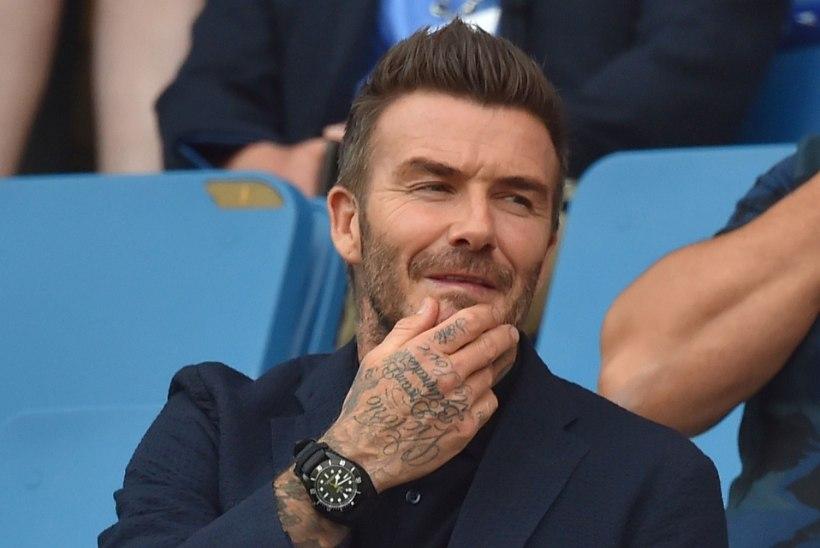 Beckhami suspefoto ajas tema fännidel-fännitaridel vere vemmeldama