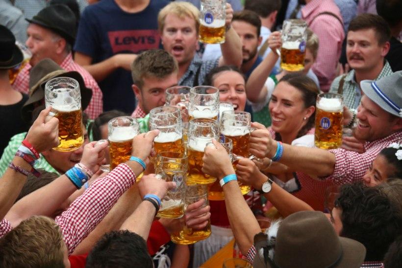 ÕLLESÕBRAD RÕÕMUSTAVAD: täna algab Oktoberfest
