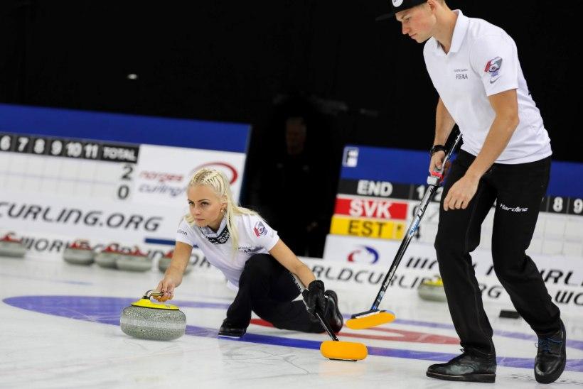 ÄGE! Eesti kurlingupaar alistas kodusel MK-etapil olümpiamängude pronksmedalistid