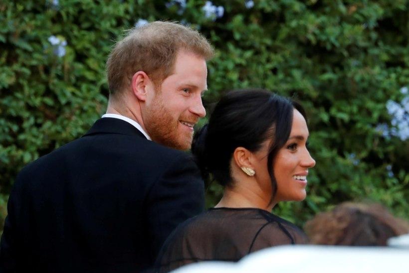 Harry ja Meghan osalesid oma kosjamoori pulmas