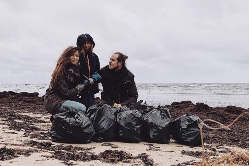 FOTOD | Ka kuulsused koristavad! Vaata, kes tuntud inimestest maailmakoristuspäeval käed prügiseks tegid