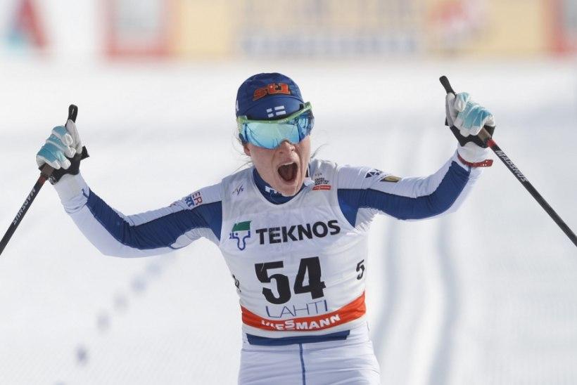 Ülinahaalse sõimukirja saanud Soome suusaäss: jätkan sportimist, et sind edaspidigi ärritada!