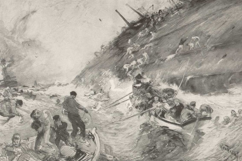 MINEVIKUHETK   22. september: sakslaste allveelaev uputas kolm Inglise sõjalaeva – hukkus üle 1450 briti
