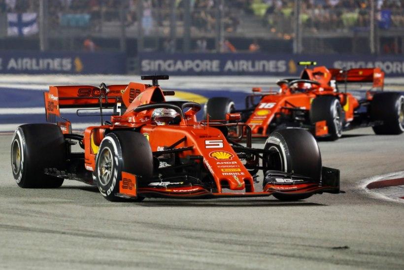 VÕIMAS! Ferrari noppis hooaja esimese kaksikvõidu
