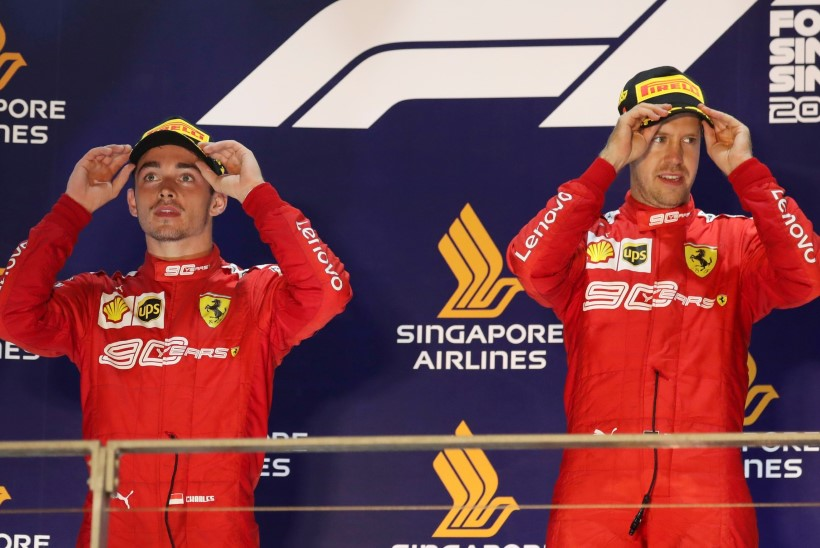 Leclerc riidleb Ferrariga: see ei ole aus