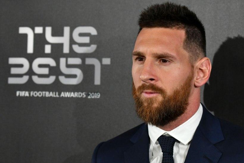 Lionel Messi valiti kuuendat korda maailma parimaks jalgpalluriks