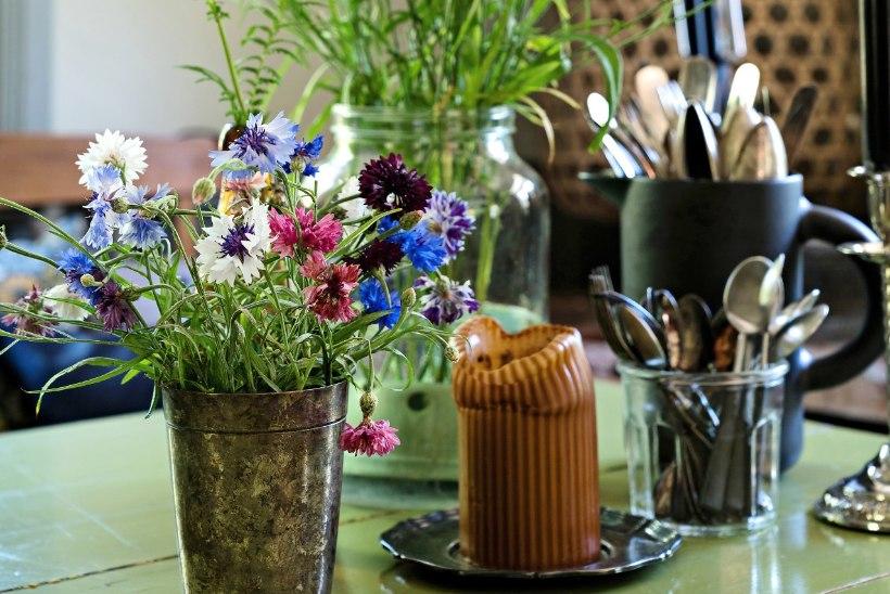 Boholikult õdus maja, kus on palju lilleilu ja valgust