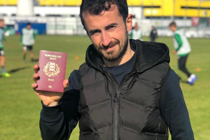 HURRAA! Armastatud grusiin sai lõpuks Eesti kodakondsuse ning võib jalgpallikoondisega liituda