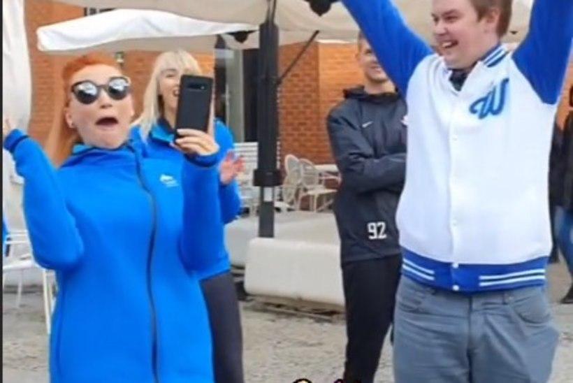 ÕL VIDEO JA GALERII | Õhtulehe uhke võit tuli Tanja hõõruvate tossude ja paksu reporteri kiuste