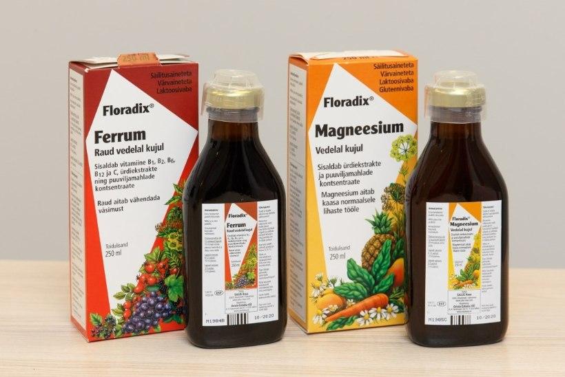 TERVISLIKULT SÜGISESSE: raud ja magneesium turgutavad tervist ja kingivad elujõu!