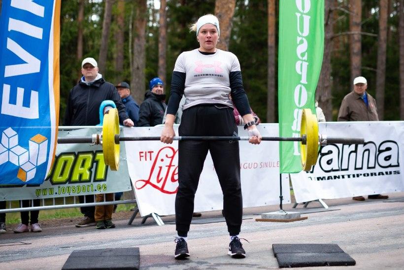 Eesti tugevaim naine Kätlin Piirimäe: lähen raskustele peale lihtsalt toore jõuga