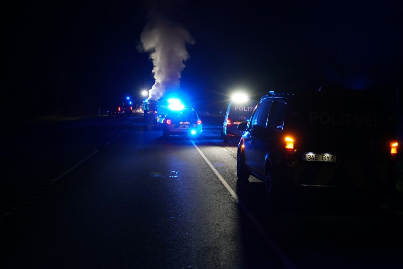 FOTOD | Raplamaal hukkus raskes liiklusõnnetuses 43aastane mees