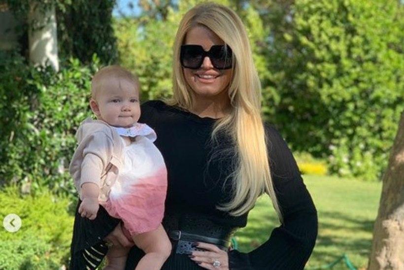 Jessica Simpson on poole aastaga ligi 50 kilo alla võtnud