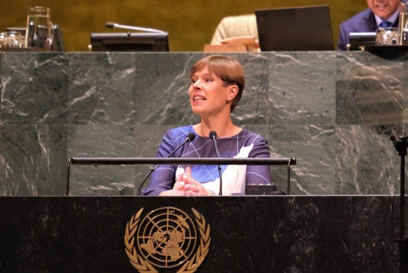 VIDEO | President Kaljulaid ÜROs: kodanikuliikumised sudivad meid kliimakriisiga tegelema