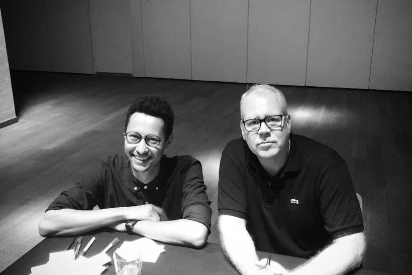 Jim Ashilevi kohtas Brüsselis oma suurimat iidolit Bret Easton Ellist: tänu temale sai minust kirjanik