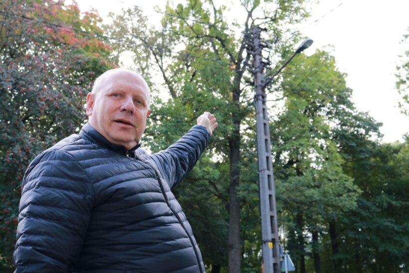 ÕL VIDEO | KIIKSUGA VAATAMISVÄÄRSUS: elektripost, hall ja betoonist. Aga Tallinna linna kaitse all!