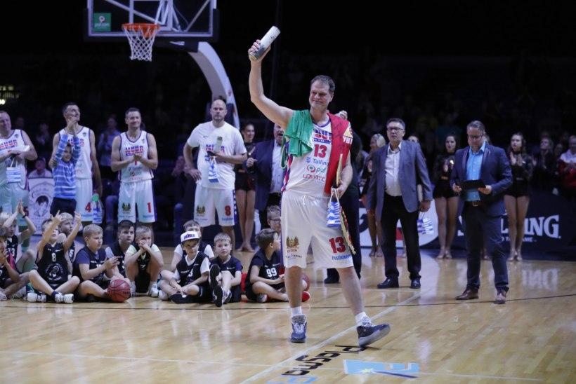 ÕL GALERII | Martin Müürsepp saadeti väärikalt erru, Dream Team pani Kalevi paika!