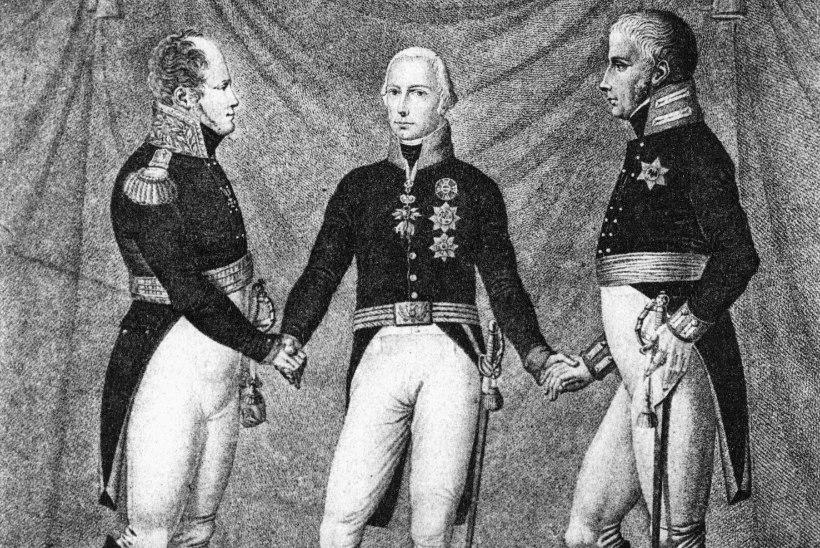 MINEVIKUHETK | 26. september: tsaar Aleksander I initsiatiivil loodi Püha Liit