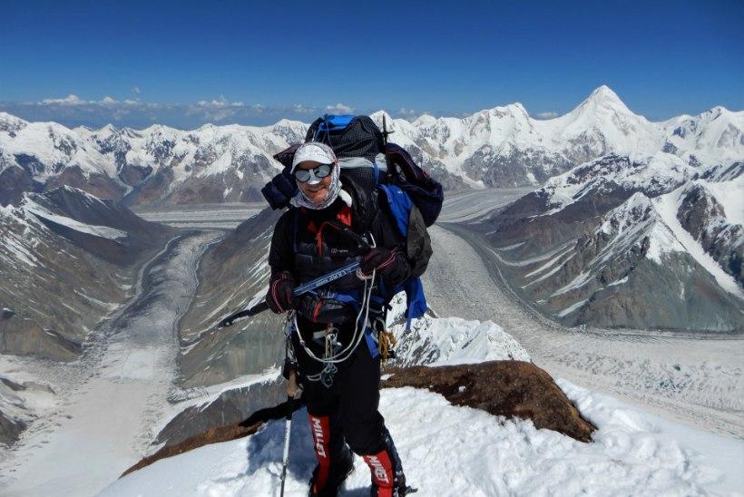 TIPPSAAVUTUS: Katrin Merisalu vallutas esimese eestlannana üle 8000 meetri kõrguse mäe