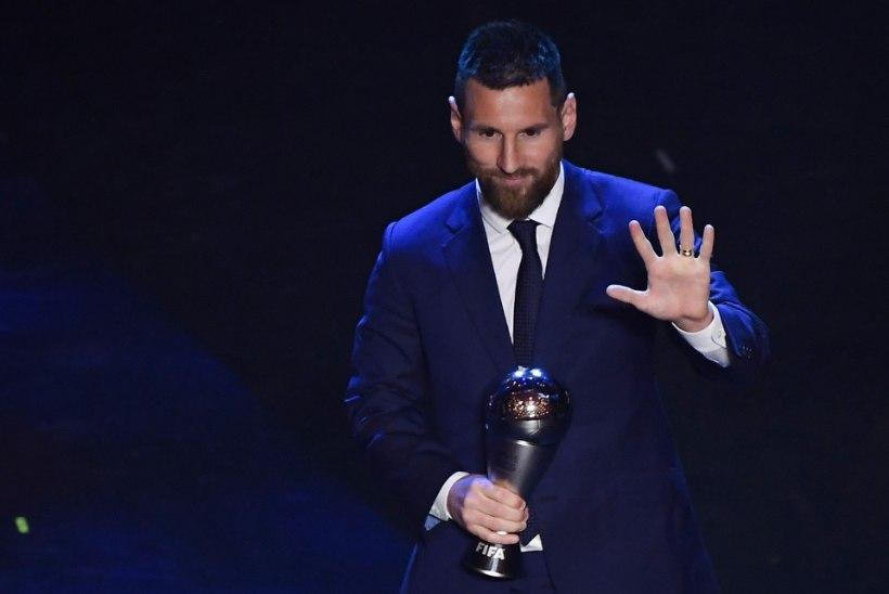 TOHOH! Parimaks jalgpalluriks valitud Messi pälvis auhinna pettusega!?