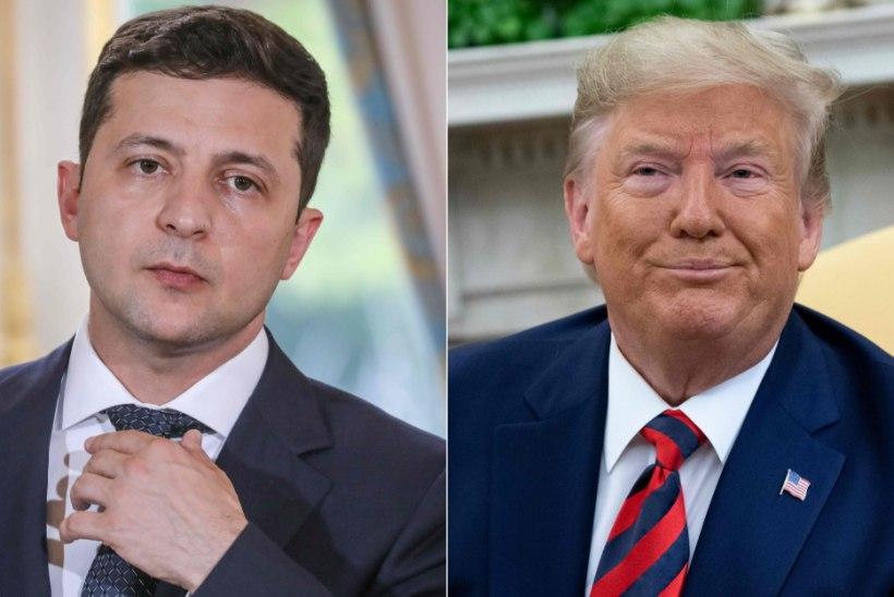 VASTASTIKUNE KIITMINE, SEKKA ÜKS SUUR PALVE: Trumpi ja Ukraina presidendi kõne täispikkuses