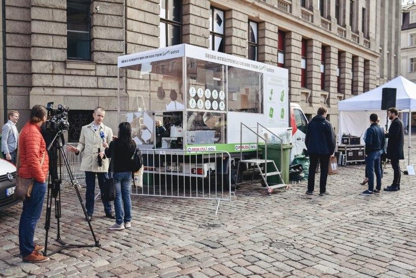 Läti uudne pakendiautomaat kasutab jäätmete sorteerimiseks tehisintellekti