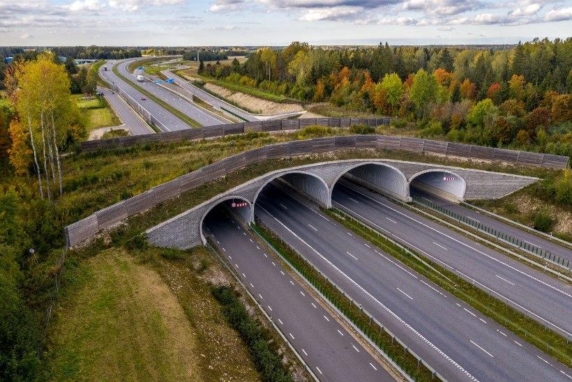 DROONIFOTOD- JA VIDEO | Vaata, kuidas kulgeb Tallinn-Tartu maantee neljarealiseks ehitamine