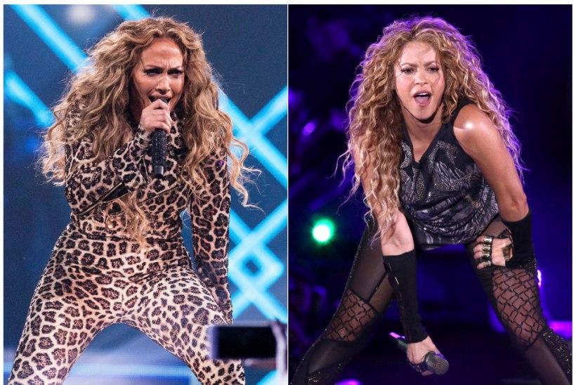 Jennifer Lopez ja Shakira esinevad Super Bowli poolajal