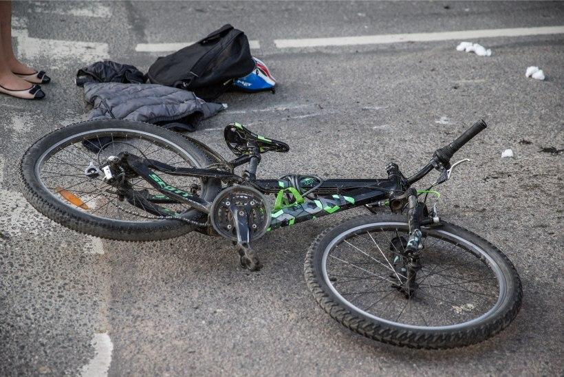 Politsei otsib Nõmmel jalgrattaga juhtunud liiklusõnnetuse pealtnägijaid
