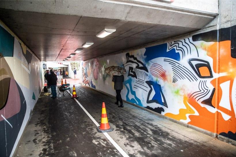 GALERII | Maanteealusest tunnelist saI rahvusvaheline grafitigalerii!