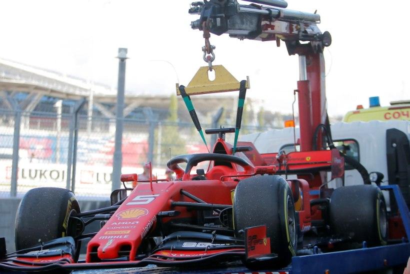 Ferrari muinasjutuline algus muutus katastroofiks