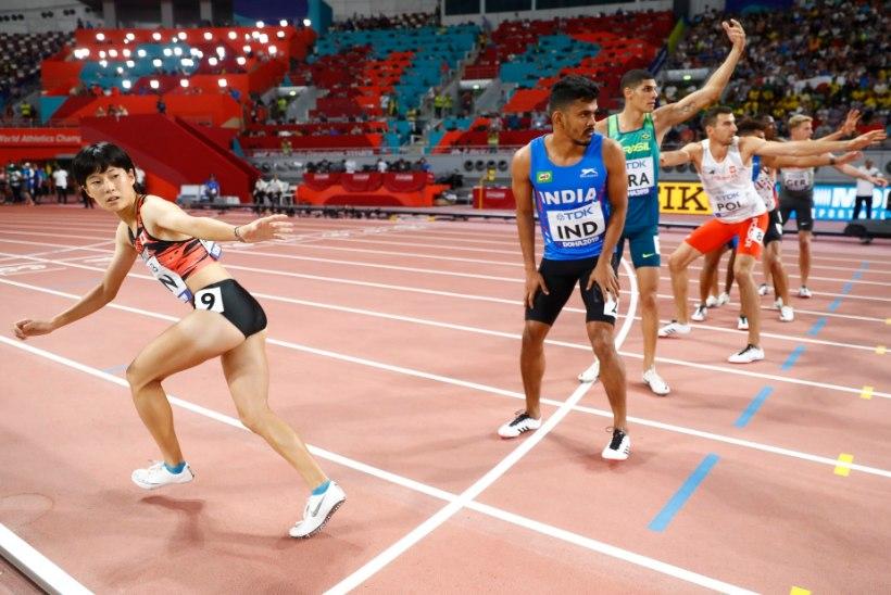 GALERII   Doha MM jätab publiku külmaks
