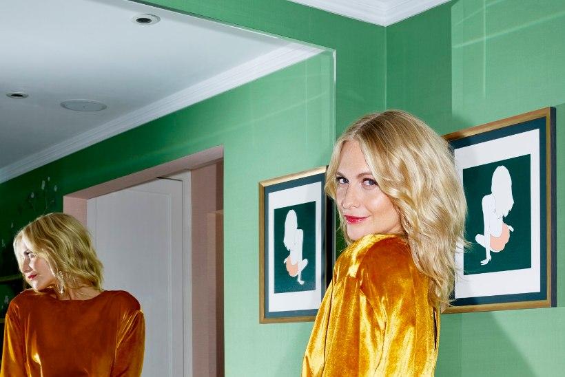 Briti näitleja, modell ja stiili-ikoon Poppy Delevingne on tuntud brändi tänavune staar