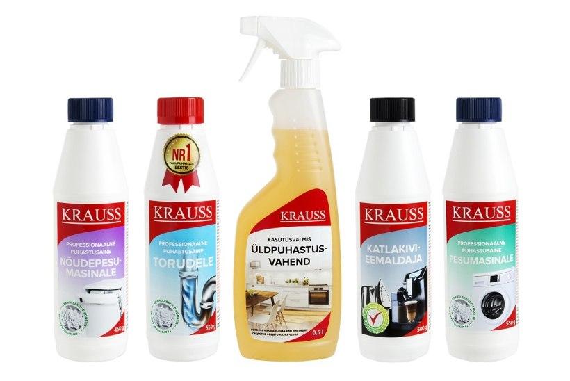 Miks on kujunenud Kraussi tippklassi puhastusained eestlaste lemmikuks?