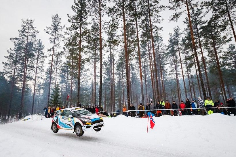 Junior WRC lootus Roland Poom võitleb viimasel etapil kopsaka rahasumma eest