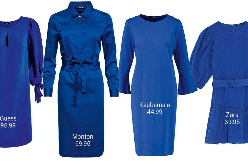 NÄPPA IDEID STAARIDELT: sinine kleit toimib alati