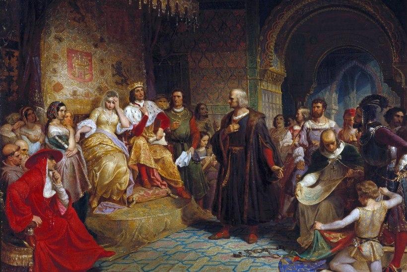 MINEVIKUHETK   3. september: Kolumbus alustas teekonda, mis viis ta Ameerikasse