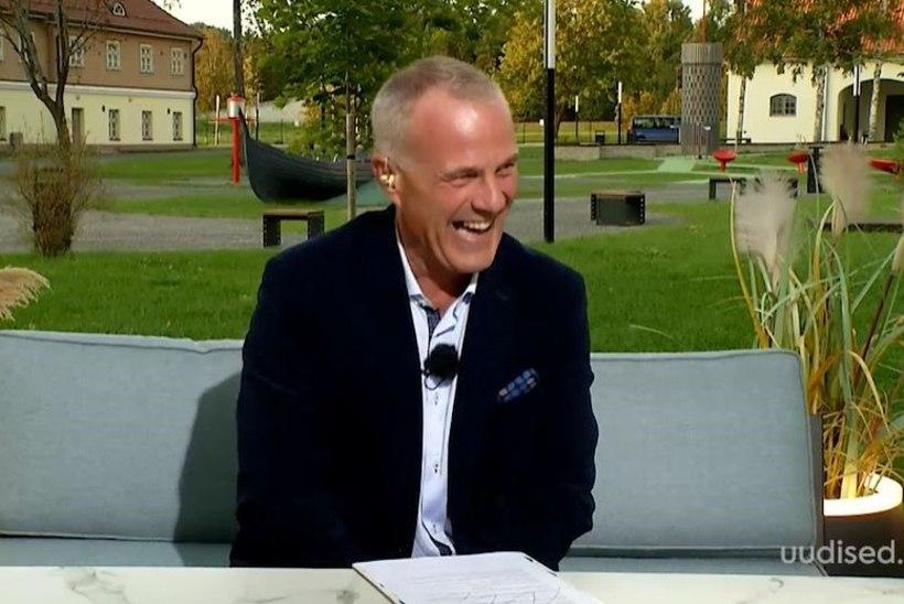 """TV3 VIDEO   Hirnu herneks! Mart Mardisalu ei saanud """"Seitsmeste"""" otse-eetris naeru pidama"""