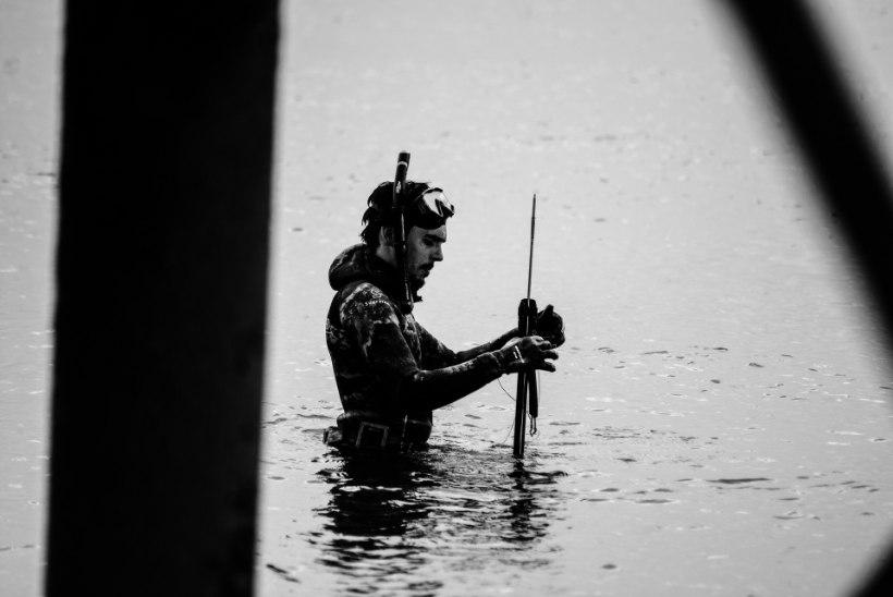 Jumal kaitses? Pastorist kalamees tulistas harpuuni läbi pea, kuid pääses hullemast